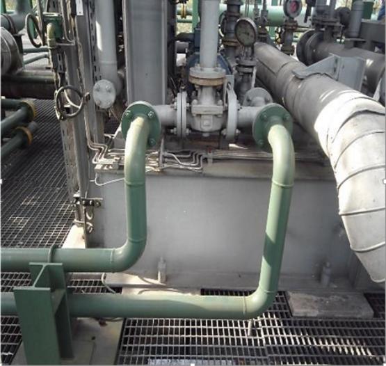 Gas compressor at cawthorne