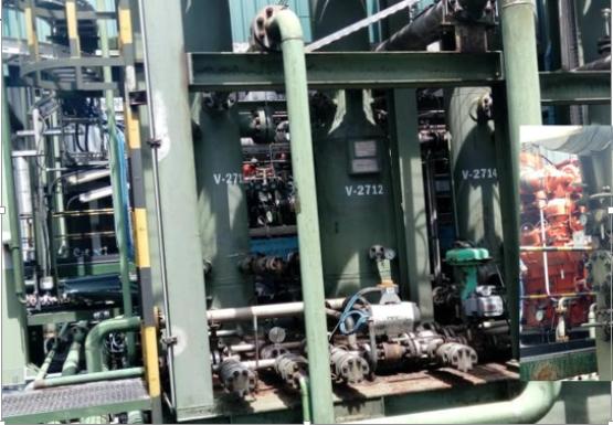 Gas compressor at krakama