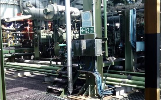 AG gas compressor